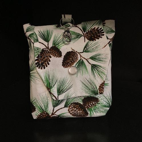 Eco Friendly Reusable Bag - Pine Cones