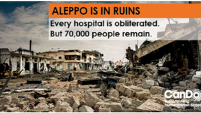 Designing for Help for Aleppo