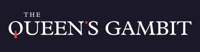 The Queen's Gambit logo - Netflix