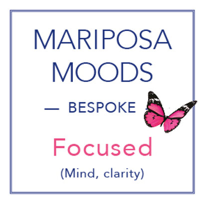 Mariposa Moods Oil - Focused