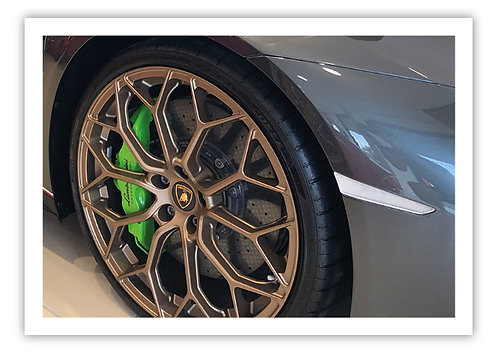 Lamborghini Alloy - Postcard