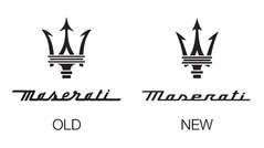 New logo for Maserati