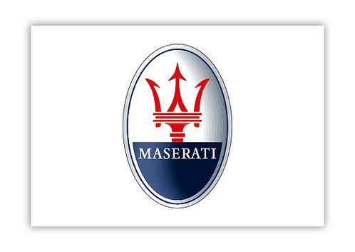 Maserati logo - Postcard