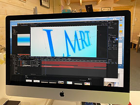 Adobe After Effects LMRT motion graphics