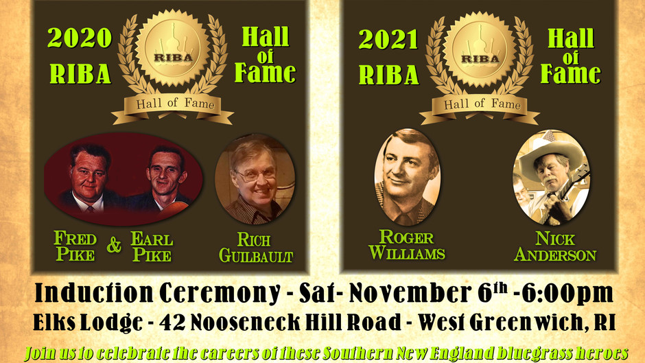 Tickets now on sale for the 2020-21 RIBA Hall of Fame Ceremony to be held Sat. Nov. 6th
