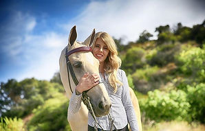 Owner/Trainer: Erin Kennedy with her Saddlebed mare, Trinket!