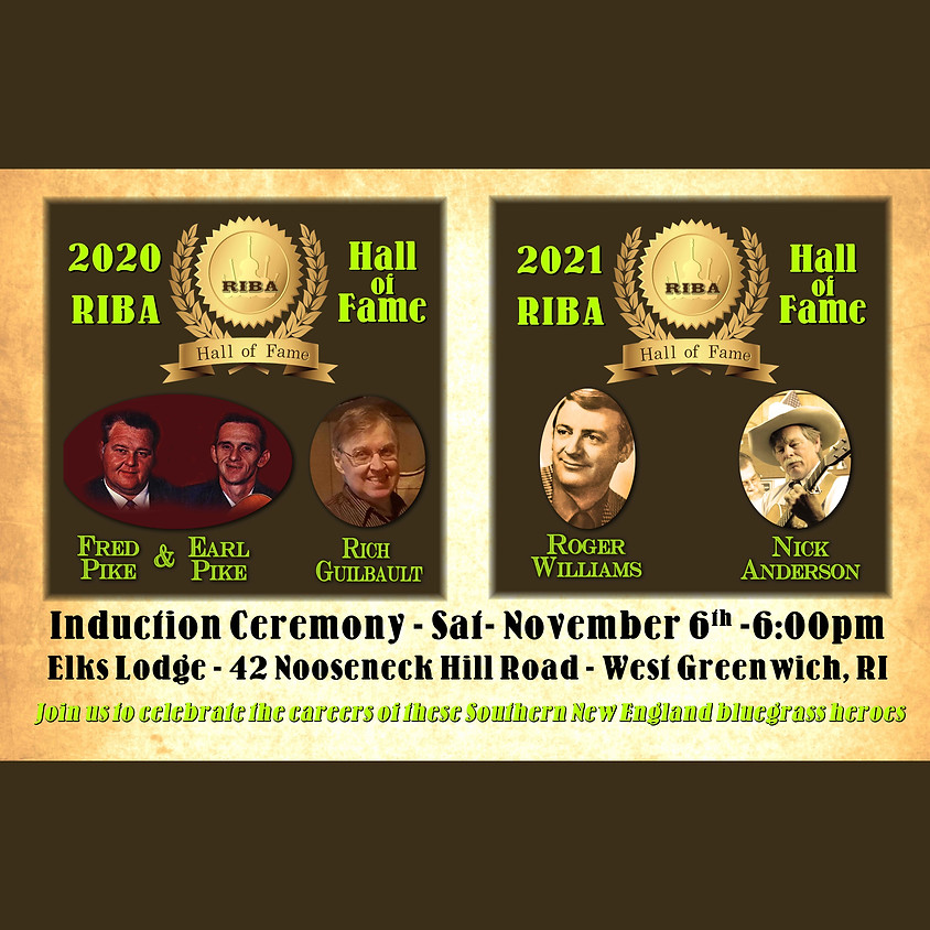 2020-2021 RIBA Hall of Fame Induction Ceremony