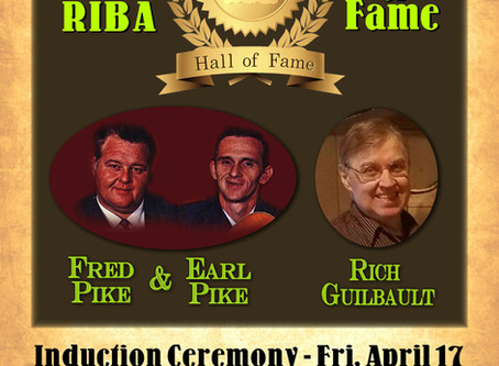 Tickets now on sale for the 2020 RIBA Hall of Fame Ceremony to be held Fri. April 17th