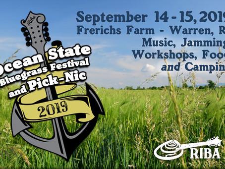 Ocean State Bluegrass Festival & Pick-nic, Sept. 14 & 15