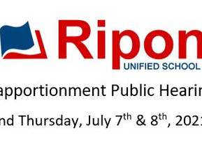 Reapportionment Public Hearings
