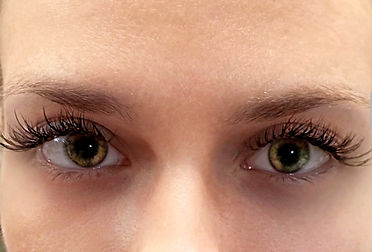 Client photo of Tacoma Eyelash Extensions with lush lashes