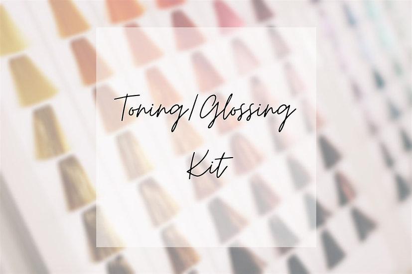Toning/Glossing Kit