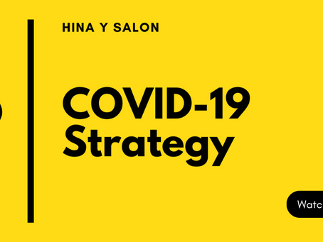Our Covid-19 Strategy