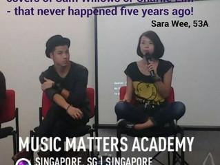 Attending Music Matters Academy 2014