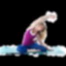 An extensa instructor doing a side stretch