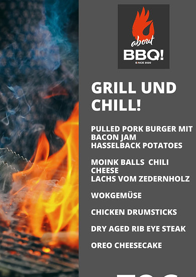 Grillkurs Grill and Chill