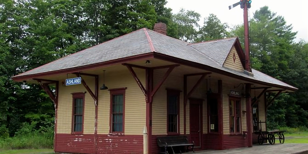 Old Boston & Concord Railroad Station, Ashland, NH
