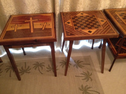 inlaid tables