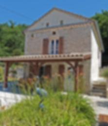 La Chênaie, entrée et terrasses