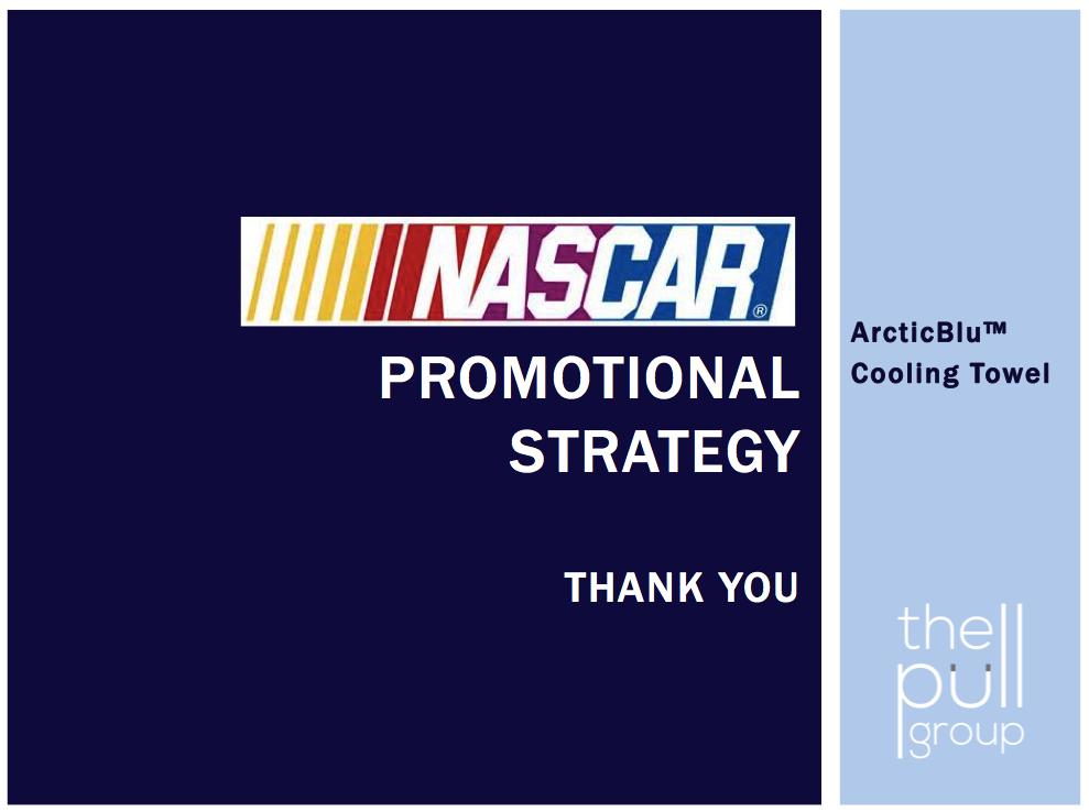 ArcticBlu meets NASCAR