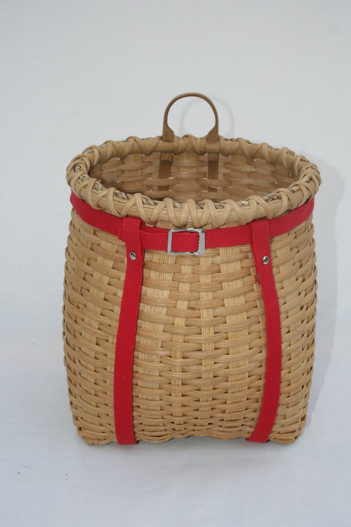 Junior - Decorative Adirondack Pack Basket with Webbing Harness