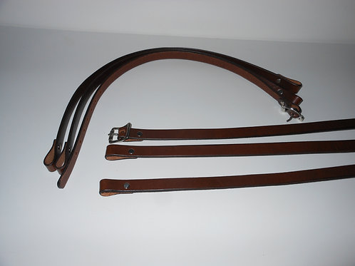 Baby Leather Adirondack Pack Harness
