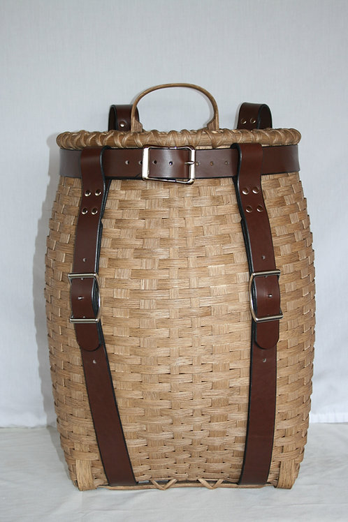 Mountaineer - Adirondack Pack Basket with Leather Harness