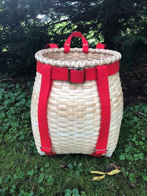 Sightseer - Adirondack Pack Basket with Webbing Handle and Harness