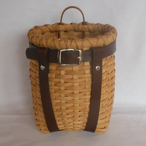 Baby - Decorative Adirondack Pack Basket with Leather Harness