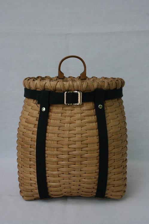 Munchkin - Decorative Adirondack Pack Basket with Webbing Harness