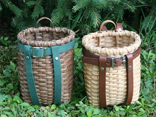 Baby - Decorative Adirondack Pack Basket with Webbing Harness