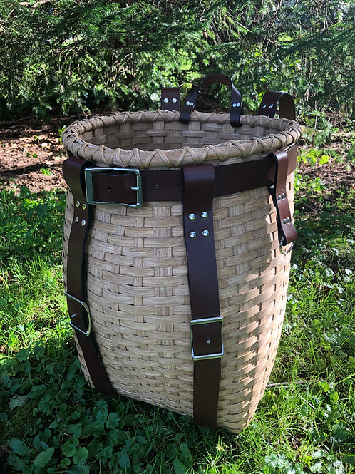 Mountaineer - Adirondack Pack Basket with Leather Handle and Harness