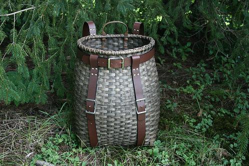 Excursion Adirondack Pack Basket Kit - leather