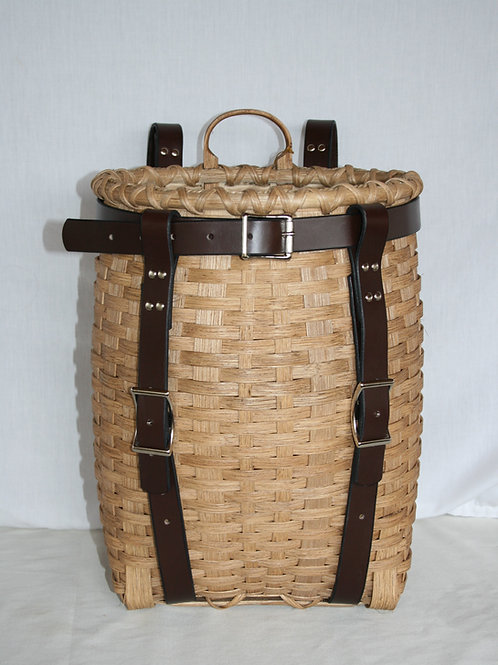 Hiker - Adirondack Pack Basket with Leather Harness