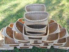 Tower of custom baskets