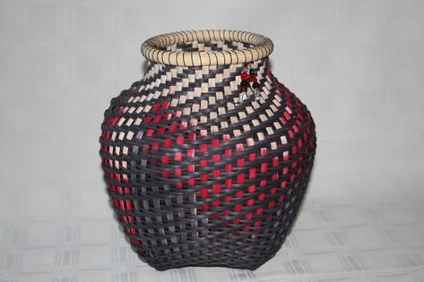 Dye Painted Basket