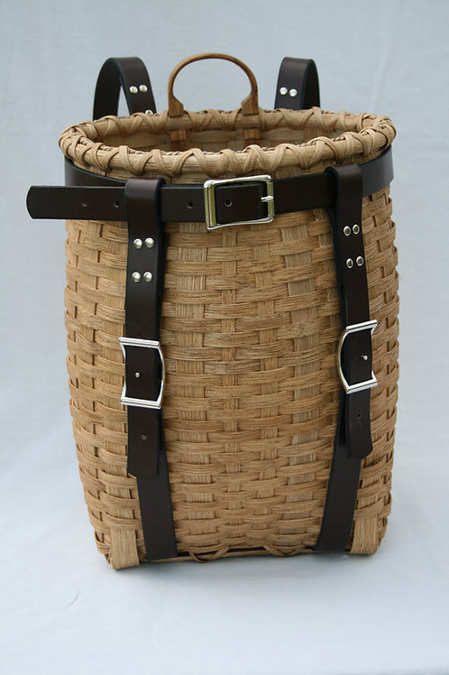 Hiker Pack Basket Kit - leather