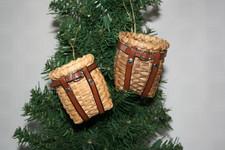 Adirondack Pack Basket Ornament