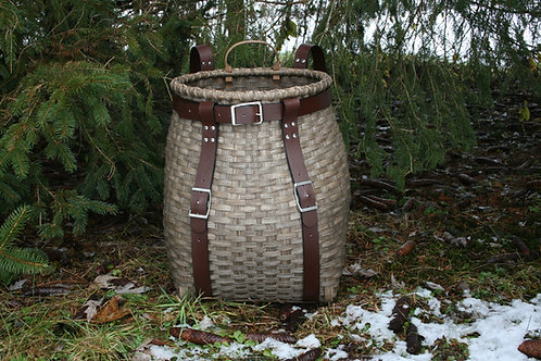 Excursion - Adirondack Pack Basket with Leather Harness