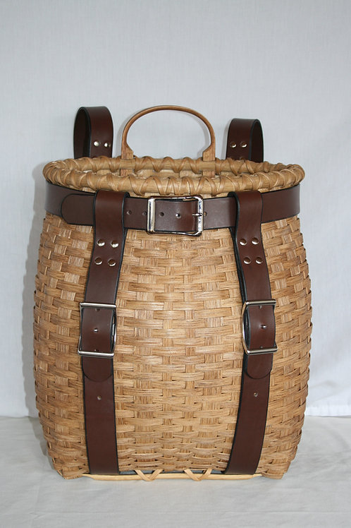 Sightseer - Adirondack Pack Basket with Leather Harness