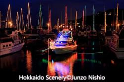 小樽港マリーナ夜景