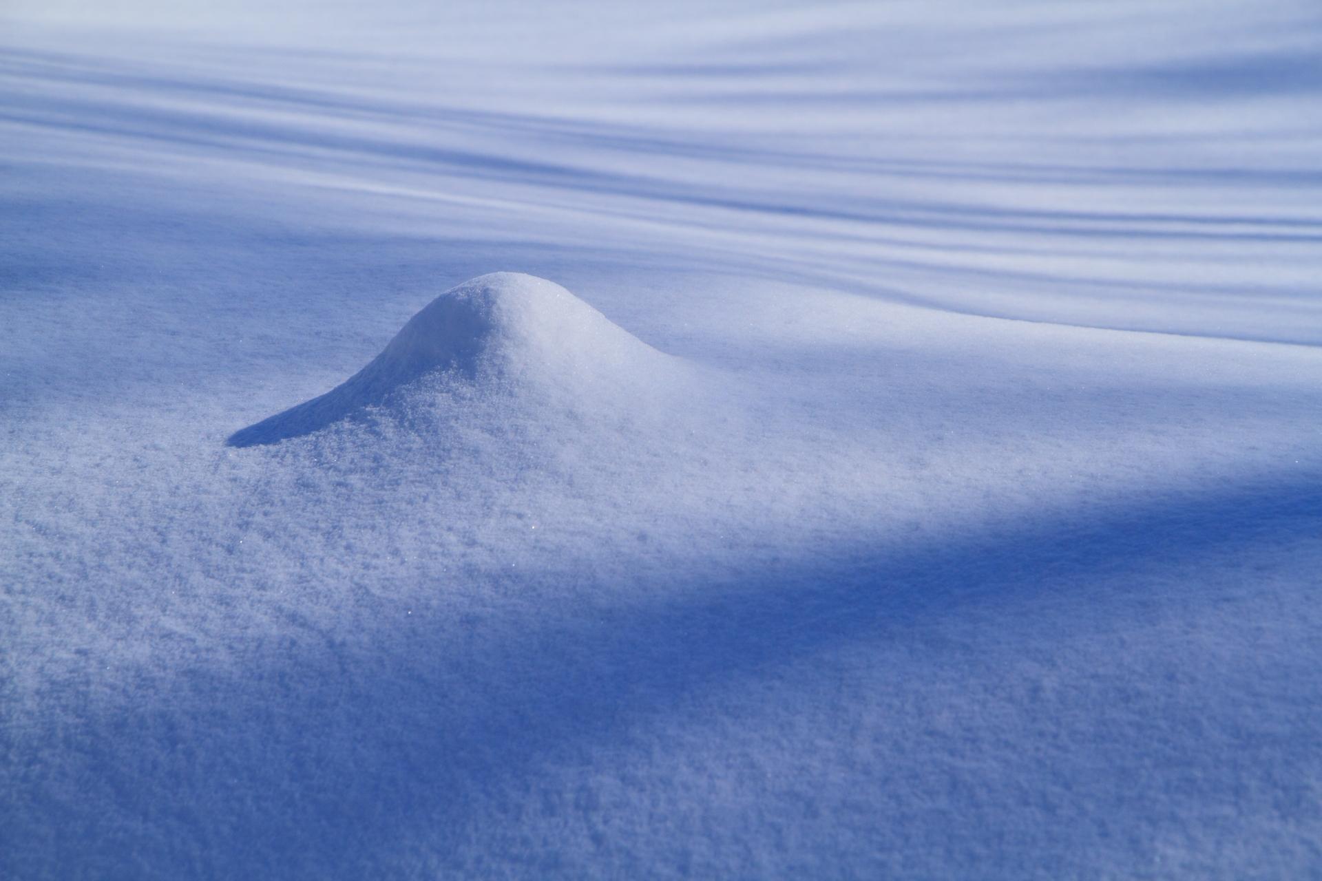 冬の造形_札幌市北区