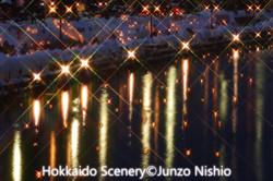 小樽運河夜景_2
