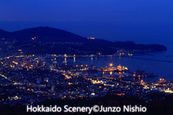 小樽市夜景