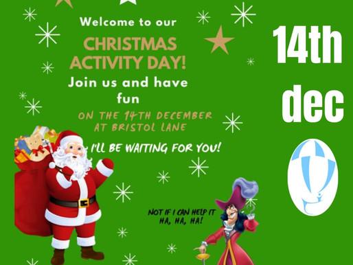 Christmas Activity Day 14 de Diciembre
