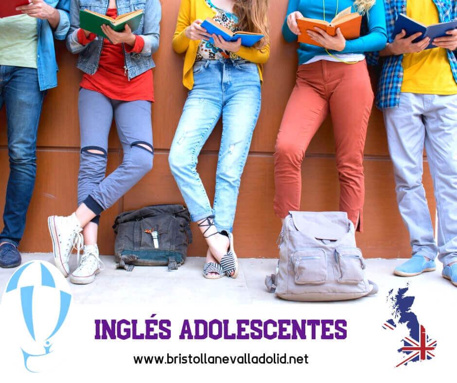 Inglés para adolescentes en Valladolid