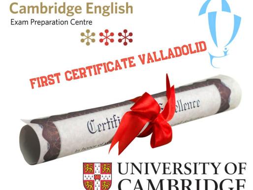 Preparación First Certificate Valladolid
