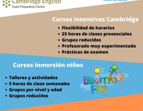 Cursos de Verano en Inglés Valladolid