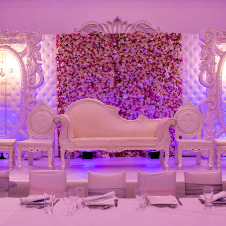 FARHEEN AND FAHEEM'S NIKKAH AT THE PAVILION WALTHAMSTOW
