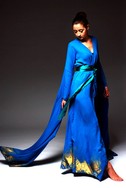 Studio blue dress